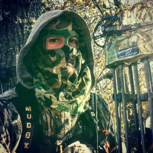 Andy in camo